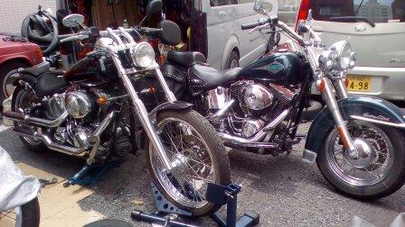 バイクのメンテ車検ハーレーダビットソン